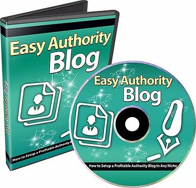 Authority Blog Income Video Course Lazy Man's Guide To Blogging