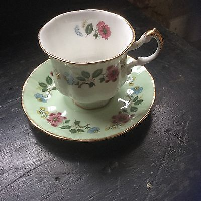 ridgway potteries royal adderley cup and saucer bone china no chips