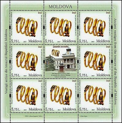 Moldova stamps! Treasure of National Museum, Ring, MNH, 2017, 8v