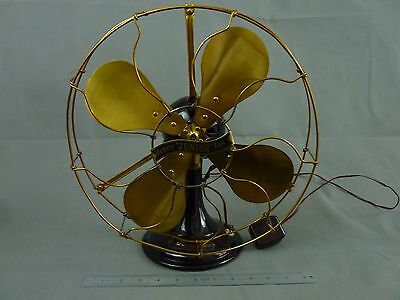 "Superb Antique Verity "" JUNIOR "" Fan"