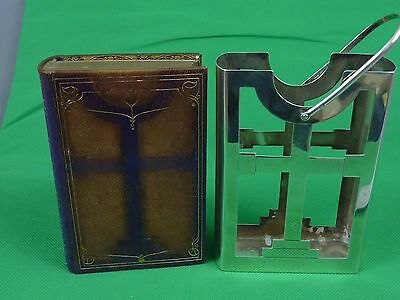 Full Leather Bound The Book of Common Prayer with Solid Silver Slipcase c1935