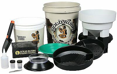 Gold Rush Nugget Bucket - Gold Panning Kit As Seen On Shark Tank Camouflage
