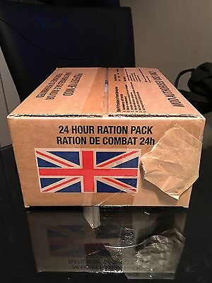 British Army 24 hour Ration Pack Menu 19  Only
