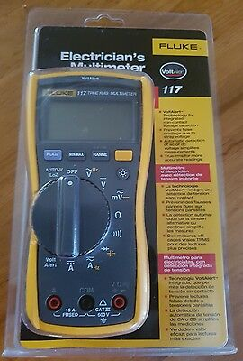 Fluke 87V Multimeter With Extra Fluke TL224 & Fluke TP74. Made In USA! BRAND NEW