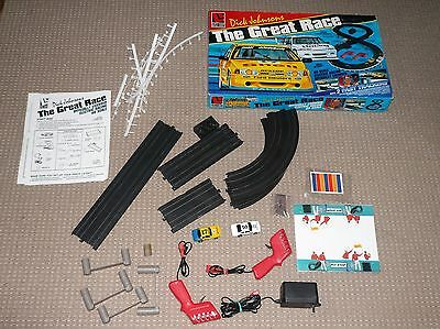 Dick Johnson The Great Race Ho Scale Electric Racing Set Scarce Game