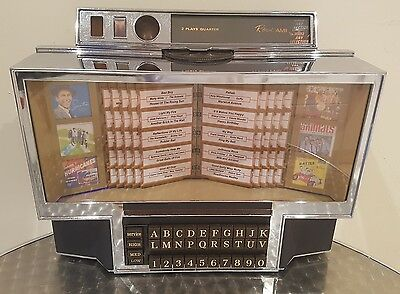 1966 Rowe Ami Wr200 Wallbox Jukebox **converted To Mp3!** Retro 50's 60's 70's