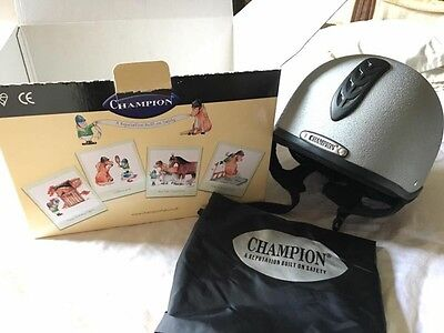 Champion Junior X-Air Plus Riding Jockey Helmet