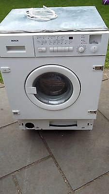 Integrated Bosch Washer Dryer WET2820 GB