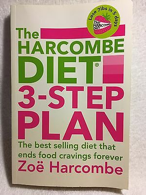 The Harcombe Diet 3-Step Plan Lose 7lbs in 5 days by Zoe Harcombe NEW