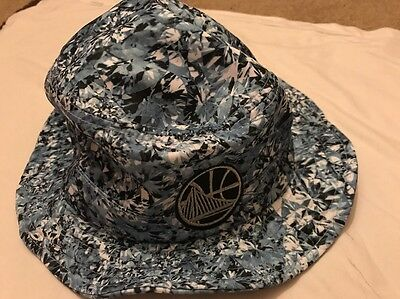 Men's Adidas White Golden State Warriors Diamonds Bucket Hat- L/XL, New