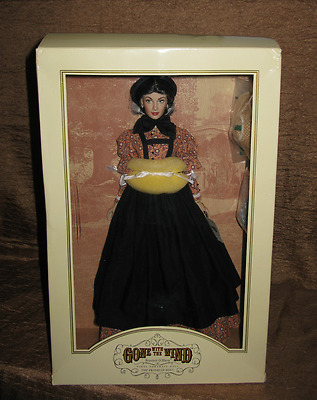 "Battlefield Doll Franklin Mint Gone with the Wind GWTW 16"" Scarlett MIB 3 Hats!"