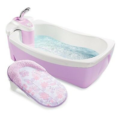 Baby Whirlpool Spa Bath Tub Infant Bathtub Toddler Shower Water Jets