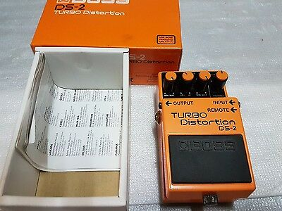 Boss Turbo Distortion Ds 2