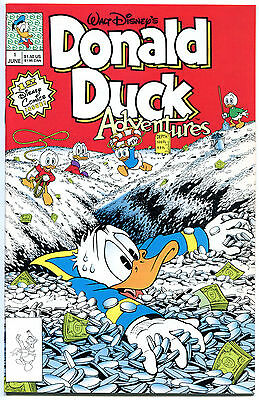 DONALD DUCK ADVENTURES #1, NM+, 1st, Walt Disney, Don Rosa, more in store