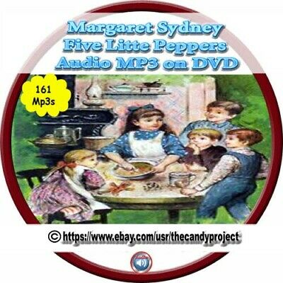Margaret Sydney Audio Books Five Little Peppers and How They Grew Up  Mp3 DVD