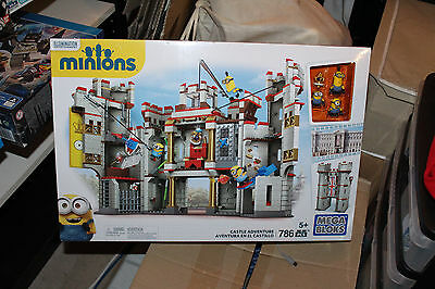 Mega Bloks:Despicable Me CASTLE ADVENTUR Minions RARE HARD TO FIND Aussie Stock