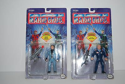 Super Mario Bros. Movie Action Figures Ertl Iggy And Ruler Koopa Still Carded