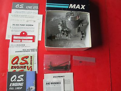 "Os Max 61 Rf Abc-Pump ""new"" 2 Stroke Rc Pattern Engine With Extra Option"