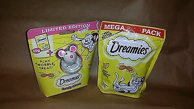 DREAMIES  SNACKY MOUSE WITH CAT TREATS 60G CHEESE FLAVOR (limited edition)