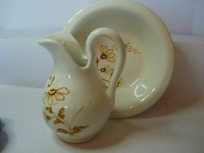 jug gianni passeri jug and bowl with flower