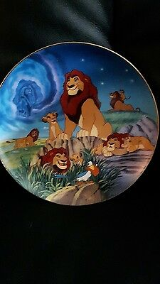 Disney The Lion King Plate Remember Who You Are Plate 268B 84-B10-831.1