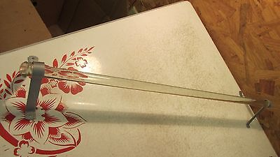 Antique Glass Towel Bar Rod - 23 3/4""