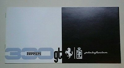Original Ferrari 330 GT Factory Brochure