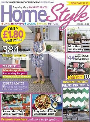 Home Style Magazine June 6/2016 384 Simple Ways to Update Your Home