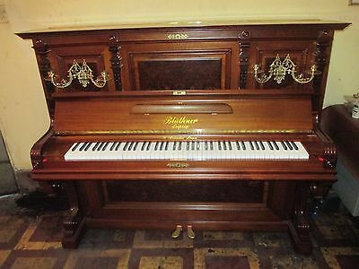 Exceptional German made Bluthner upright grand  piano