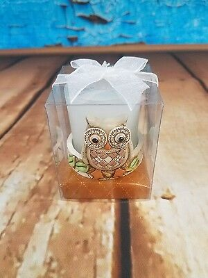 Decorative Owl Votive/candle-Good Gift