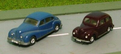 BMW 501 / FORD TAUNUS - CLASSIC HO plastic models by WIKING
