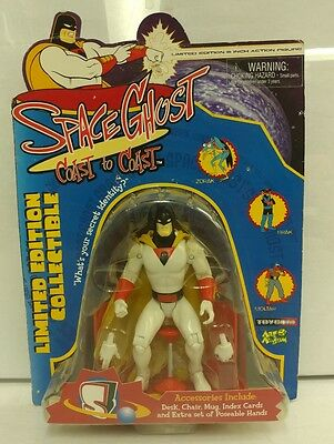 Space Ghost Coast to Coast Space Ghost Figure New in Package 1999 RARE