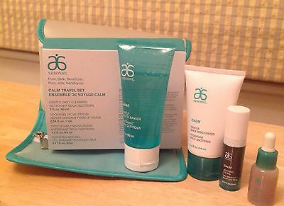 Arbonne Calm Travel Set Bnib - 4 Items In Travel Bag