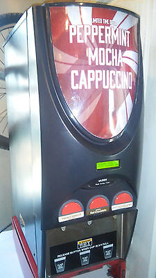 Bunn iMix 3 Cappuccino Dispenser, Self Serve 3 Flavor Powdered Hot Drink Machine