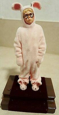 2009 Hallmark Ralphie's Pink Nightmare A Christmas Story Ornament The Bunny Suit