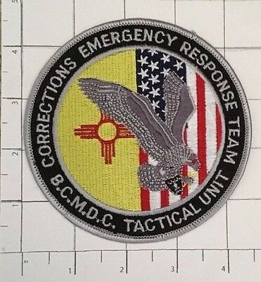 BCMDC Tactical Unit Patch – Corrections Emergency Response Team - Bernalillo Co.