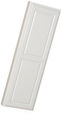 StowAway In-Wall Ironing Board Cabinet with Built In Ironing Board White