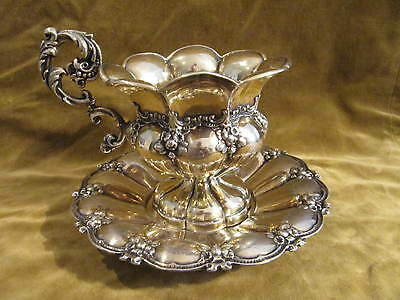 Gorgeous 1844 french sterling gilded silver tea cup Louis Philippe St 388g Fray