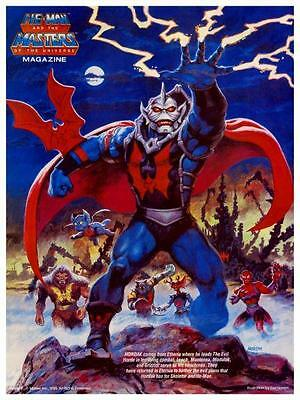 He-Man  POSTER #7  Masters of the Universe  *LARGE & AMAZING IMAGE*  He Man