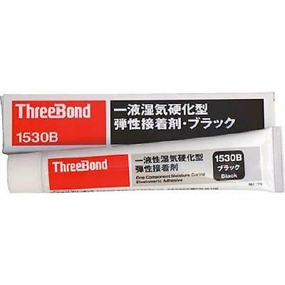 ThreeBond - One Component Moisture Curing Low Odour Adhesive (Black) 150g 1530B