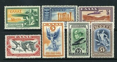 #C8-14 Airmails nice (MINT   Hinged) - NICE cv$67.00