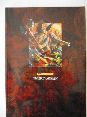 Warhammer - Games Workshop - The 2007 Catalogue / Colour Collectors Guide