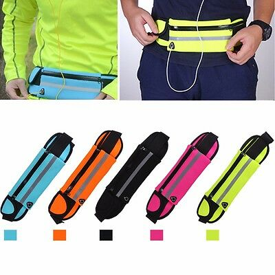 Flip style taille exercice & running sac ceinture pochette pour mobile argent