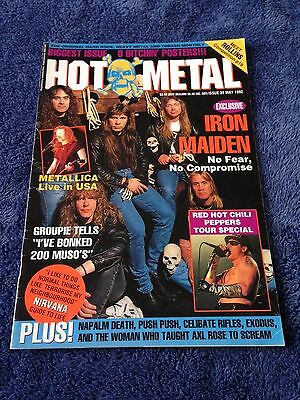 HOT METAL - Issue 39 - Australian Heavy Metal Magazine May 1992