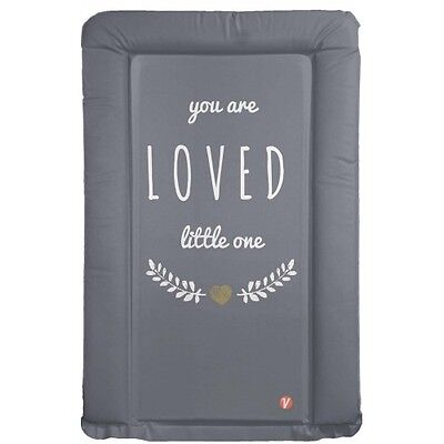 Venosure Grey Changing Mat You Are Loved Little One - Boy Or Girl