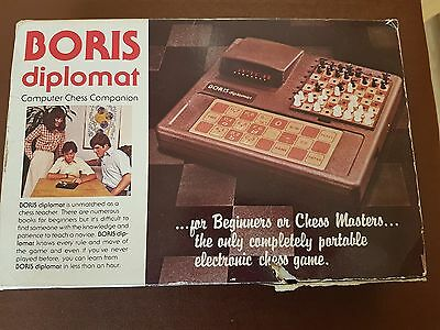 Boris Diplomat Computer Chess Companion