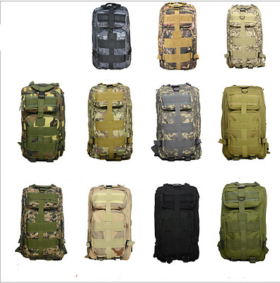 *Outdoor Military Tactical Bags Mountaineering Hiking Traveling Camping Backpack