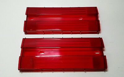 Ford Xc Gxl Falcon Rear Brake Tail Light Lens Pair  New Will Suit Fairmont