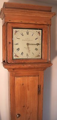 "Antique Pine ""  Steyning ""   Longcase /grandfather Clock"