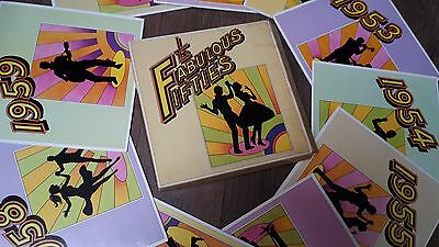 "**VINTAGE** The Fabulous Fifties 10 x Vynil 12"" LP's Readers Digest Boxed Set"